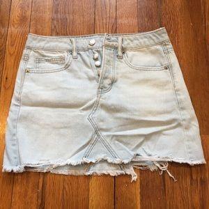 AE Light Denim Skirt